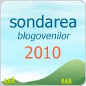 Sondarea Bloggerilor 2010